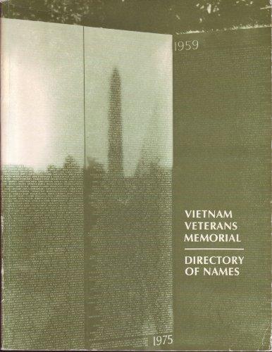 (Vietnam Veterans Memorial : Directory of Names)