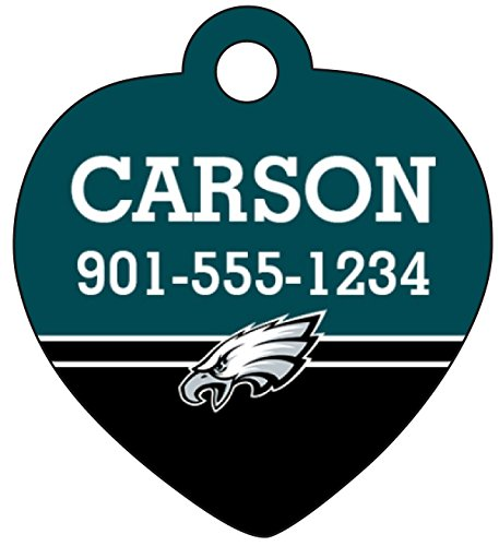 innovative design 689bf 0af75 Philadelphia Eagles Pet Id Tag for Dogs & Cats Personalized ...