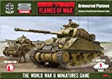 Flames Of War British Sherman Armoured Platoon (late, X5)