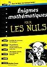 Enigmes mathématiques Poche Pour les Nuls par Conti