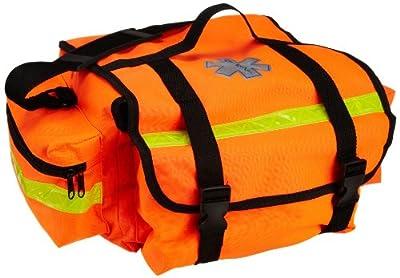 "Primacare KB-RO74-O Trauma Bag, 7"" Height x 17"" Width x 9"" Depth, Orange from Primacare"