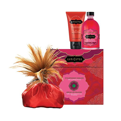 Kama Sutra Intimate Play Sets - Fun Travel Kits Treasure Trove Strawberry Dreams