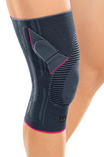 Medi Genumedi Knit Knee Support PT Left (Silver) Size - Size Pt