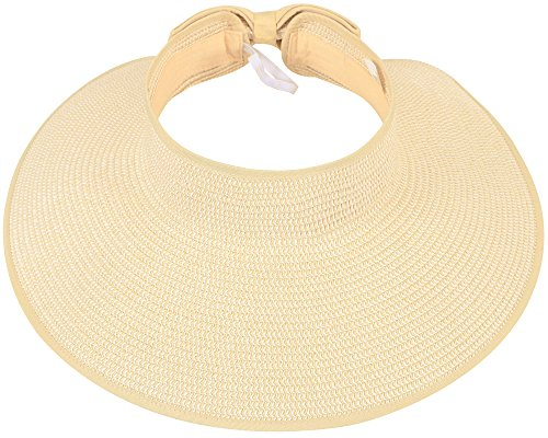 TOP RATED WOMEN'S WIDE BRIM UPF 50+ STRAW SUN HAT!