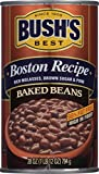 BUSH'S BEST Boston Recipe Baked Beans, Canned Beans, Prime Pantry, 28 oz.