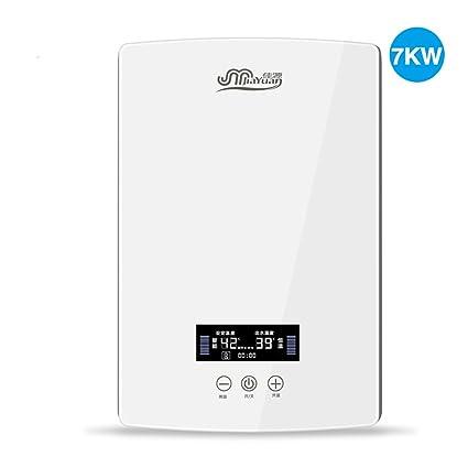 LJ Calentador de agua caliente de la temperatura constante del cuarto de baño electrónico instantáneo 7KW
