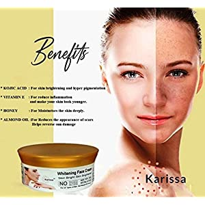 Karissa face cream for women 50gms | face whitening cream for women| face cream for oily skin| Night cream for Better…