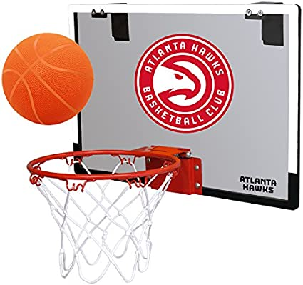 #5 NBA Game On Indoor Basketball Hoop & Ball Set