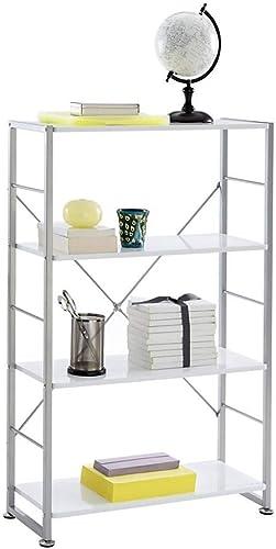 Realspace Halton 46 3/4″ 3 Shelf Contemporary Bookcase