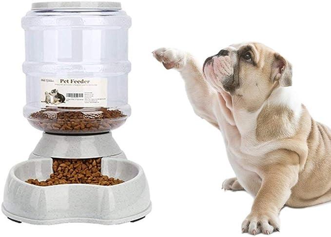 mangiatoia e abbeveratoio in set per piccoli animali ciotola per cani mangiatoia automatica per gatti 3,8 L senza PBA Old Tjikko distributore di cibo e acqua