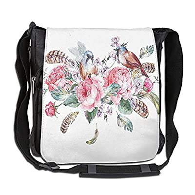 Vintage Gothic Rose Custom Waterproof Travel Tote Bag Duffel Bag Crossbody Luggage handbag