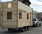 Allwood Frontier | 228 SQF Tiny Home, Cabin Kit