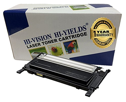 HI-VISION HI-YIELDS Compatible Toner Cartridge Replacement for Samsung CLT-K406S (Black) works with CLP-365W, CLX-3305FW, CLX-3305W