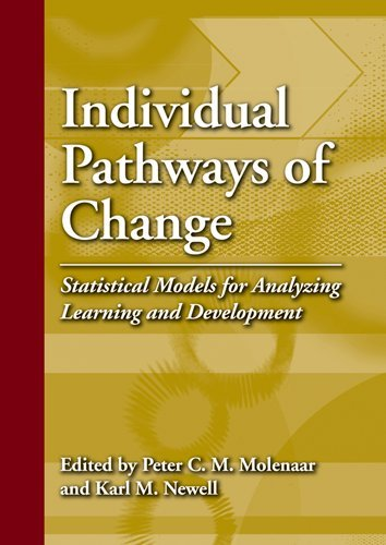 Download Individual Pathways of Change: Statistical Models for Analyzing Learning and Development ebook