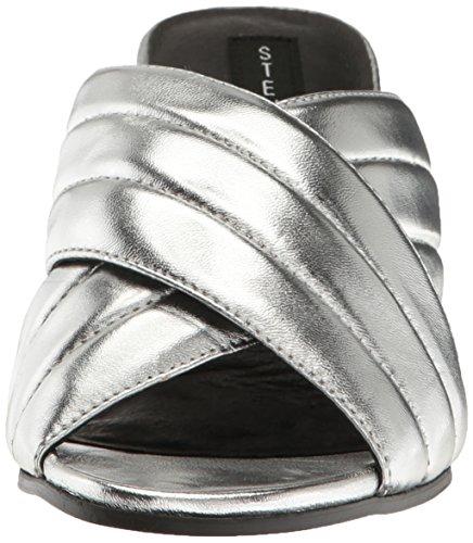Pour Zada Femme Leather Veste Madden Silver Steve qAPO1t