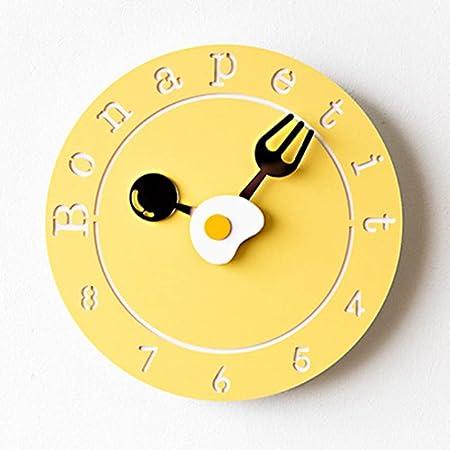 Reloj de pared reloj NHL Reloj de pared moderno Silencio Sin ...
