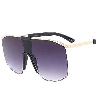 7aef222635d3 Oversized Square Sunglasses Women Gradient Lens Shades Sun Glasses Men Big  Frame Hip-hop Glasses (black)  Amazon.co.uk  Clothing