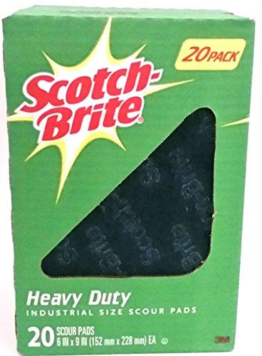 Scotch Brite 3M Heavy Duty Scouring Pads 6