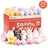 Toys : Satkago 25 Pcs Mini Mochi Squishies, Easter Basket Stuffers Gifts Easter Egg Fillers Toys Stress Reliever Toys Party Favors for Kids Boys Girls