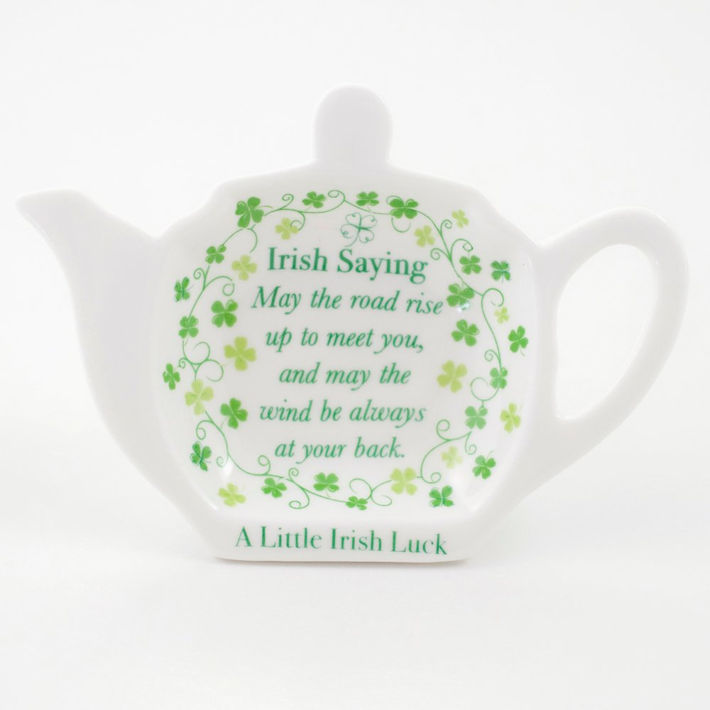Clover Irish Saying Tea Bag Holder