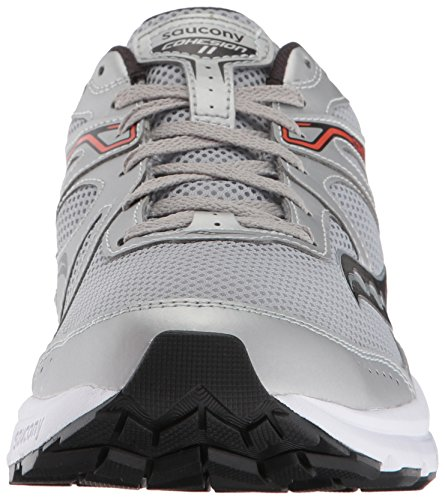 clearance exclusive free shipping clearance store Saucony Men's Cohesion 11 Running Shoe Silver/Orange discount 2015 new high quality online discount enjoy P4onw0Qfd