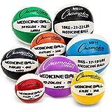 Champion Sports MB4 Exercise Medicine Balls, 4-5