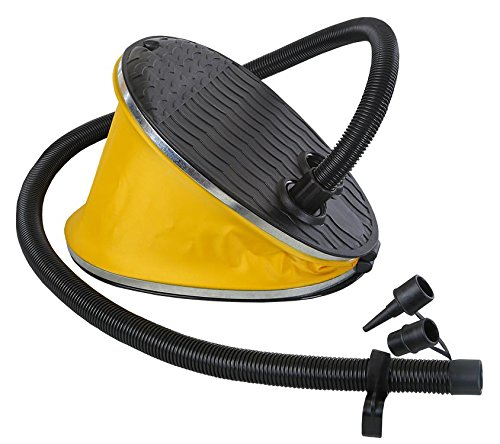 Stansport High Volume Bellows Foot Pump