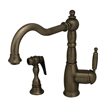 Superieur Whitehaus 3 3185 PTR Essexhaus 9 Inch Single Lever Kitchen Faucet With  Traditional