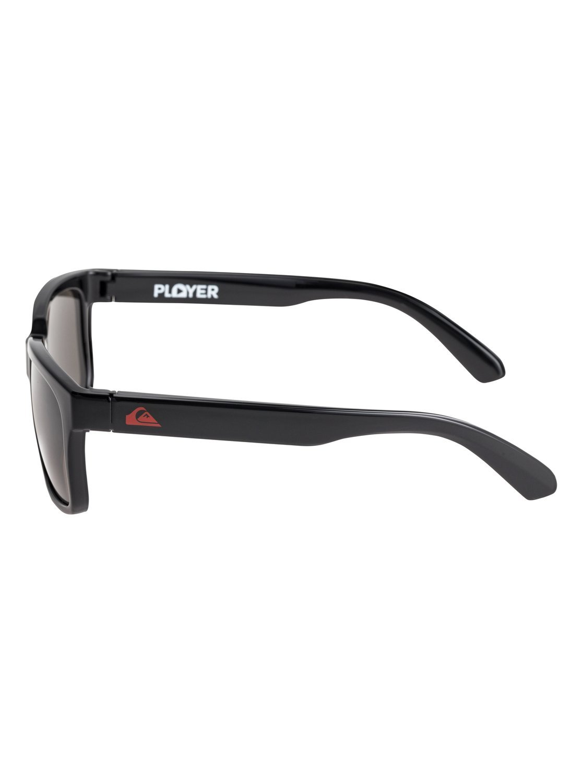 f77aad69326d9 Quiksilver Boys Player - Sunglasses Sunglasses Black One Size   Amazon