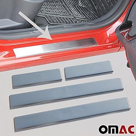 Listones de Umbral Acero Inoxidable para Renault Clio IV 2012 de HB Clio Sport Tourer de 2013: Amazon.es: Coche y moto