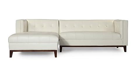 Awe Inspiring Amazon Com Kardiel Lf Ani Wht Harrison Modern Loft Uwap Interior Chair Design Uwaporg