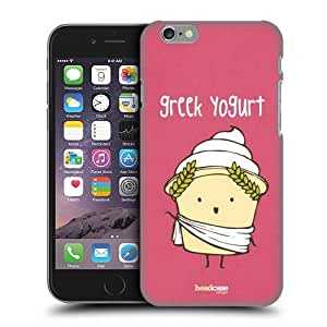 Head Case Designs Greek Yogurt Yummy Doodle Protective Snap-on Hard Back Case Cover for Apple iPhone 6 4.7 by ruishername