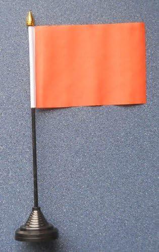 Color naranja escritorio mesa de bandera: Amazon.es: Hogar