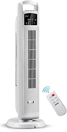 Opinión sobre FHDF Silencioso Ventilador De Torre con Mando a Distancia Portátil Oscilante Tower Fan3 Velocidades 3 Viento para El Hogar Y La Oficina Temporizadorr (Blanco, 100 cm)