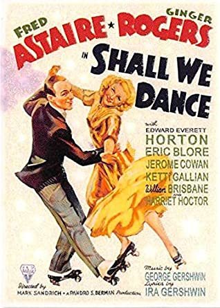 Fred Astaire Ginger Rogers Trading Card Shall We Dance Classic Movie Posters 2007 12 At Amazon S Entertainment Collectibles Store