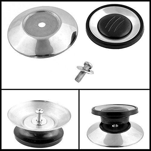 Utensil Pot Pan Lid Cover Circular Holding Knob Screw Handle Universal Kitchen cabinet handles & knobs Cookware Replacement -Pier 27