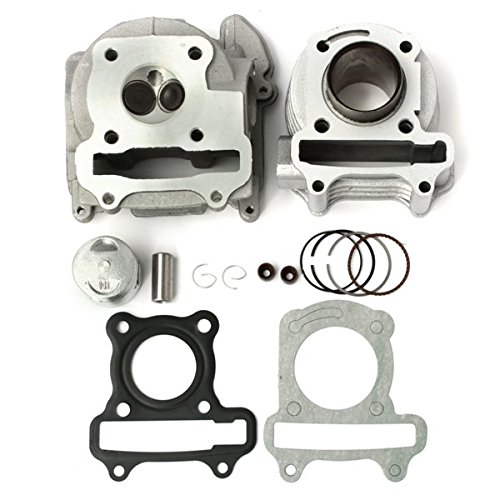(Utini 50cc 60cc 80cc GY6 QMB139 Cylinder Head Piston Rings Set for Scooter)