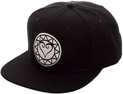 Black Kingdom Hearts Dad Hat Adjustable Kingdom Hearts Snapback Hat