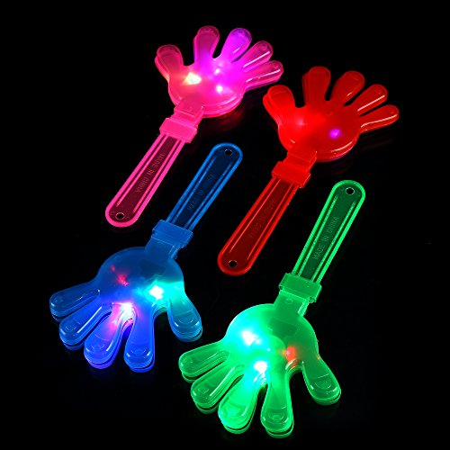 Fun Central A27 LED Light Up Hand Clappers - Assorted