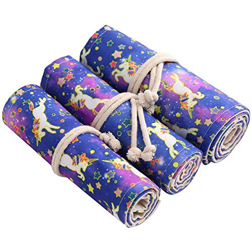 Amazon.com: pencil cases bags - 36/48/72 Case Roll Pouch ...