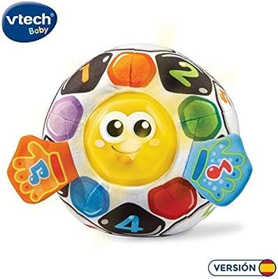 VTech-80-509122, Pelota fútbol bebé Blanda interactiva con más de ...