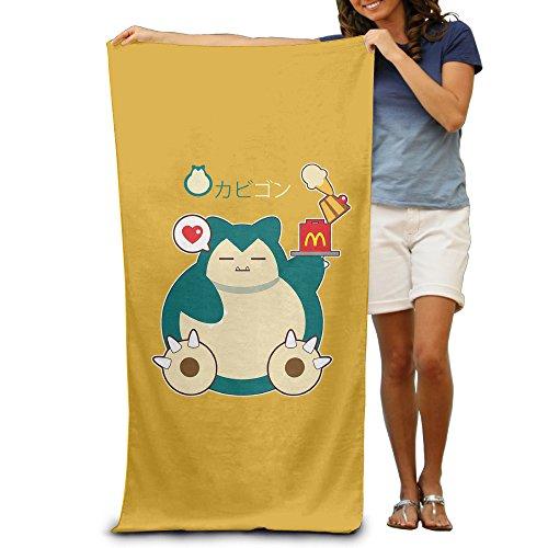 Yeye6 Snorlax Logo Unisex Beach Towel/Bath Towel/Pool Towel