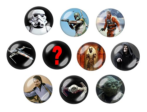 "Disney's Star Wars Episode V ""The Empire Strikes Back"" 10Pc Button Set"
