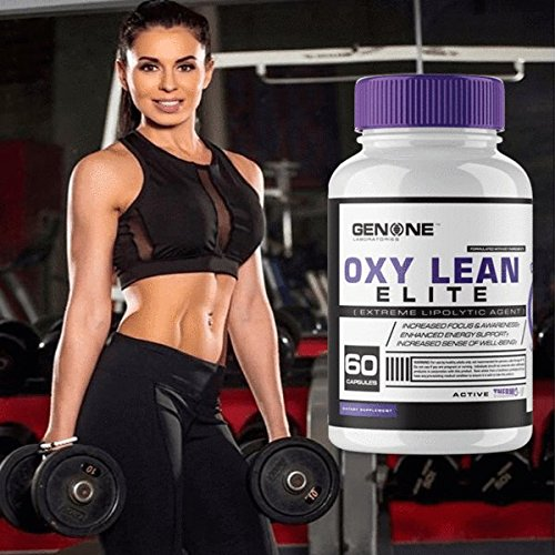GenOne-Nutrition-Oxy-Lean-Elite-Thermogenic-Fat-Burner-Weight-Loss-Supplement-for-Men-Women-Energy-Booster-Appetite-Suppressant-OxyLean-60-Capsules