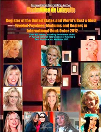 Register Of The United States And World'S Best And Most Trusted Psychics Mediums And Healers