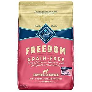 Blue Buffalo Freedom Grain Free Recipe for Dog, Small Breed Chicken Recipe, 11 lb 62
