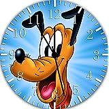 "Disney Pluto Wall Clock 10"" Will Be Nice Gift and Room Wall Decor E250"