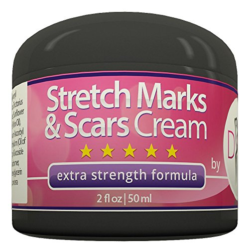 Price comparison product image Stretch Mark and Scar Removal Cream by DIVA Fit & Sexy - Made with Natural and Organic Herbal Extracts - 100% Satisfaction Guaranteed!