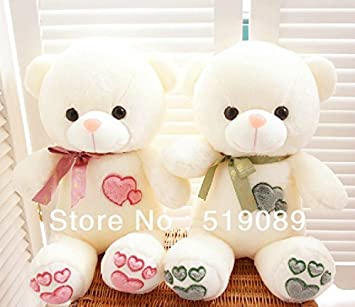 Amazon.com: 60 cm Cute Oso de peluche, Soulmate Teddy Bear ...