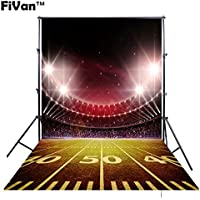 FiVan 5x8ft(150x250cm) Football field photography background for children cosplay FT-4266